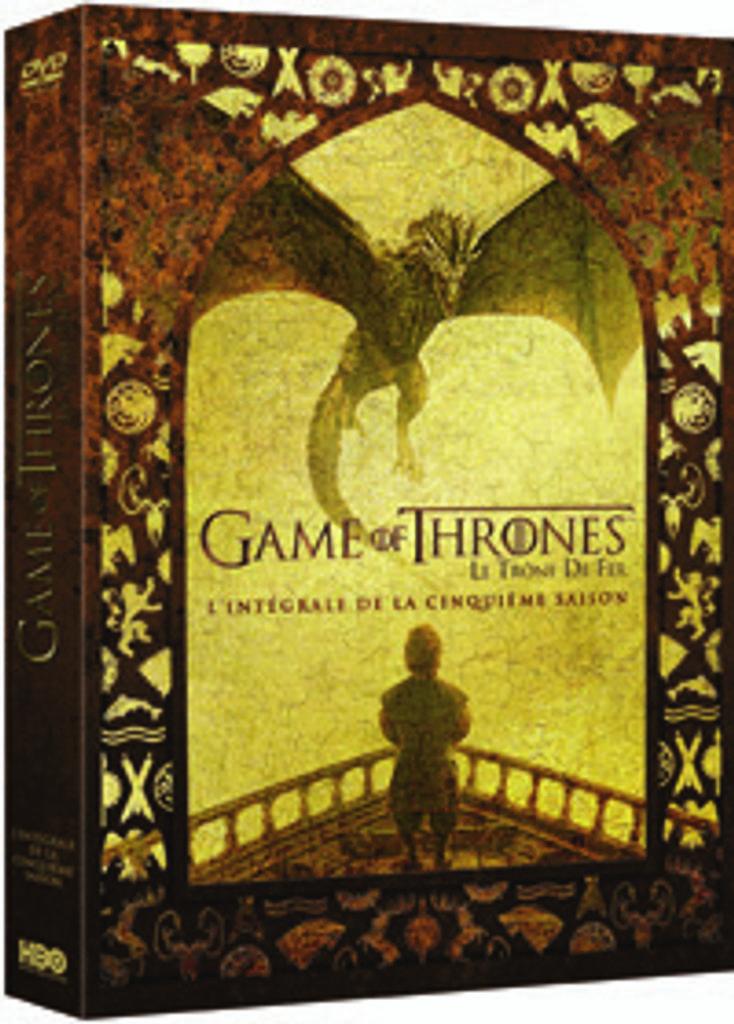 Game of Thrones, l'intégrale de la cinquième saison = Le Trône de fer / David Benioff, D.B. Weiss, idée orig.  