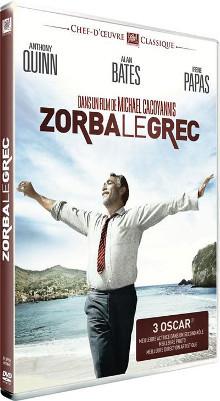 Zorba le Grec / Michael Cacoyannis, réal., scénario | Cacoyannis, Michael (1922-2011). Metteur en scène ou réalisateur. Scénariste