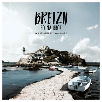 Breizh : Eo ma bro ! : La Bretagne est mon pays ! / Olivier de Kersauzon, Alan Stivell, Gilles Servat... [et al.] | Kersauson, Olivier de. Récitant