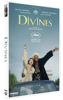 Divines / Houda Benyamina, réal., scénario, dialogues | Benyamina, Houda (1980-....). Metteur en scène ou réalisateur. Scénariste