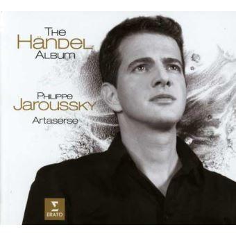 The Händel album / Philippe Jaroussky, contre-ténor   Jaroussky, Philippe. Contre-ténor