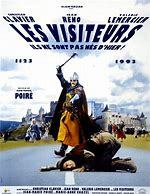 Les visiteurs 1 / Jean-Marie Poiré, real., scénario   Poiré, Jean-Marie. Metteur en scène ou réalisateur