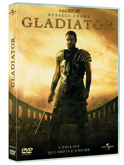 Gladiator / Ridley Scott, real.   Scott, Ridley. Metteur en scène ou réalisateur
