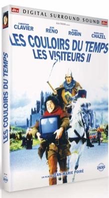 Les Visiteurs 2 : Les couloirs du temps / Jean-Marie Poiré, real., scénario   Poiré, Jean-Marie. Metteur en scène ou réalisateur