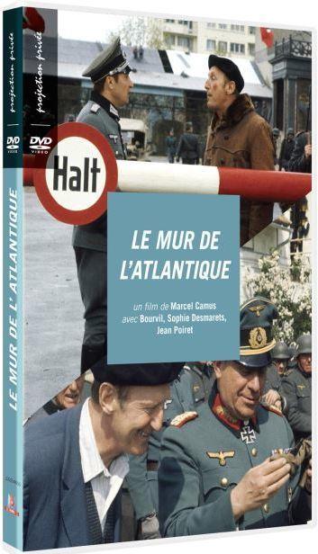 Le mur de l'Atlantique / Marcel Camus, real., dialoguiste   Camus, Marcel. Metteur en scène ou réalisateur. Dialoguiste