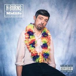 Midlife / H-Burns, aut., comp., chant, guit. | H-Burns. Parolier. Compositeur. Chanteur. Guitare