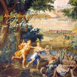 Virtuosa di musica di camera : Sonatas from the court of Bayreuth / Anna Bon di Venezia, comp. | Venezia, Anna Bon di. Compositeur