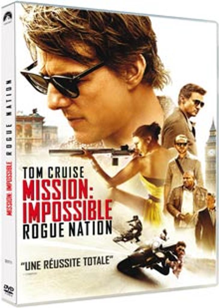 Mission impossible, 5 / Christopher McQuarrie, réal., scénario |