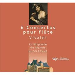 6 concertos pour flûte / Hugo Reyne, flûte à bec, dir. d'orch. | Vivaldi, Antonio. Compositeur
