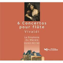6 concertos pour flûte / Hugo Reyne, flûte à bec, dir. d'orch.   Vivaldi, Antonio. Compositeur