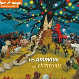Les animaux en chansons / Benoît Caillard, coord.   Caillard, Benoît. Compilateur