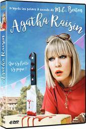 Agatha Raisin, saison 1 / Geoffrey Sax, Paul Harrison, Roberto Bangura, réal. | Sax, Geoffrey. Metteur en scène ou réalisateur