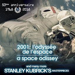 """Bande originale du film""""2001, a space odyssey"""" and many more Stanley Kubrick's masterpieces = Bande originale du film """"2001, l'odyssée de l'espace"""" / Richard Strauss, Johann Strauss, Aram Khatchatourian... [et al.], comp.   Kubrick, Stanley. Personne honorée. Metteur en scène ou réalisateur"""