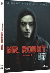 Mr. Robot, saison 2 / Sam Esmail, réal., scénario | Esmail, Sam (1977-....). Metteur en scène ou réalisateur. Scénariste