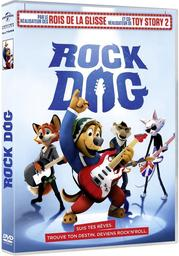 Rock dog / Ash Brannon, réal., aut. adapté, scénario | Brannon, Ash. Metteur en scène ou réalisateur. Antécédent bibliographique. Scénariste