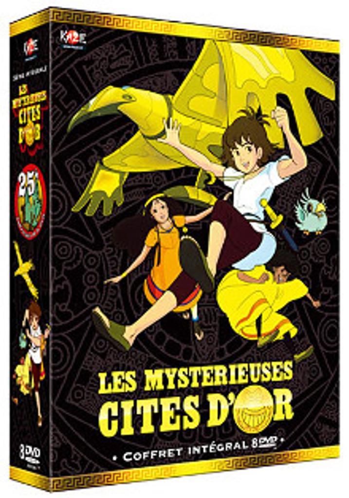 Les mystérieuses cités d'or / Bernard Deyries, Jean Chalopin, réal. |