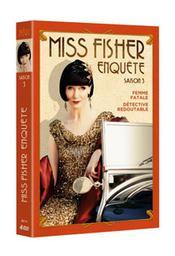 Miss Fisher enquête, saison 3 / Tony Tilse, Peter Andrikidis, Mat King, réal. | Tilse, Tony. Metteur en scène ou réalisateur