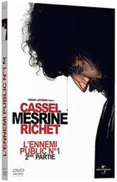 Mesrine : 2e partie, L'ennemi public n°1 / Jean-François Richet, réal. | Richet, Jean-François. Metteur en scène ou réalisateur. Scénariste