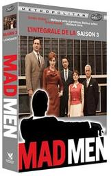 Mad men, saison 3 / Phil Abraham, Lesli Linka Glatter, Jennifer Getzinger, réal.   Abraham, Phil . Metteur en scène ou réalisateur