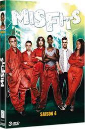 Misfits, saison 4 / Nirpal Bhogal, Jonathan Van Tulleken, Dusan Lazarevic, réal. | Bhogal, Nirpal. Metteur en scène ou réalisateur