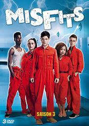 Misfits, saison 3 / Jonathan Van Tulleken, Wayne Yip, Alex Garcia, réal. | Van Tulleken, Jonathan. Metteur en scène ou réalisateur