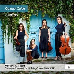 Amadeus / Quatuor Zaïde, ens. instr. | Mozart, Wolfgang Amadeus. Compositeur