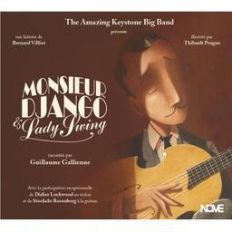 Monsieur Django & Lady Swing / Bernard Villiot, aut. | Villiot, Bernard. Auteur