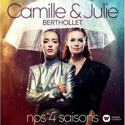 Nos 4 saisons / Camille Berthollet, violon, violoncelle, chant | Berthollet, Camille. Violon. Violoncelle. Chanteur