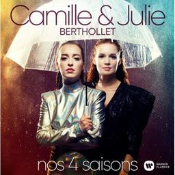 Nos 4 saisons / Camille Berthollet, violon, violoncelle, chant   Berthollet, Camille. Violon. Violoncelle. Chanteur