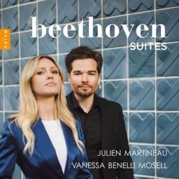 Suites / Ludwig van Beethoven, comp. | Martineau, Julien. Mandoline