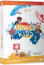 Annecy kids 2 : 11 films pour les z'enfants / Alois Di leo, Charlie Parisi, Christina Chang... [et al.], réal. | Di Leo, Alois. Metteur en scène ou réalisateur