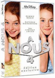 A nous 4 / Nancy Meyers, réal., scénario | Meyers, Nancy. Metteur en scène ou réalisateur. Scénariste