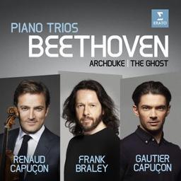 Piano trios / Ludwig van Beethoven, comp.   Beethoven, Ludwig van. Compositeur