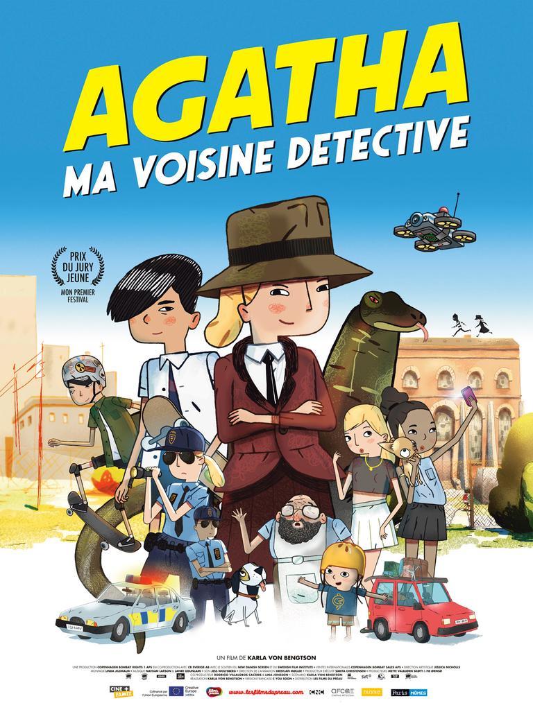 Agatha ma voisine détective / Karla Von Bengtson, réal., scénario |