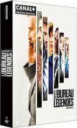 Bureau des légendes, saison 5 : épisodes 4 à 6 / Jacques Audiard, Samuel Collardey, Anna Novion, réal.   Audiard, Jacques. Metteur en scène ou réalisateur