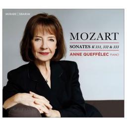 Sonates K 331, 332 & 333 / Wolfgang Amadeus Mozart, comp. | Mozart, Wolfgang Amadeus. Compositeur