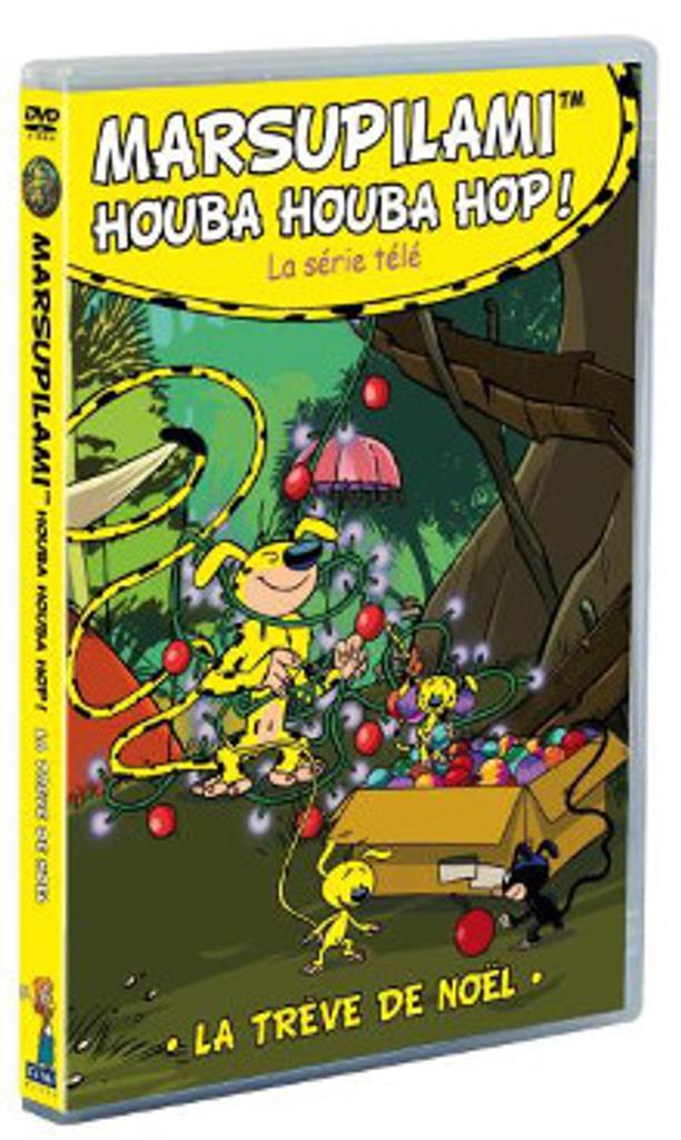 Marsupilami houba houba hop ! : La trêve de Noël / Moran Caouissin, Claude Allix, réal.  