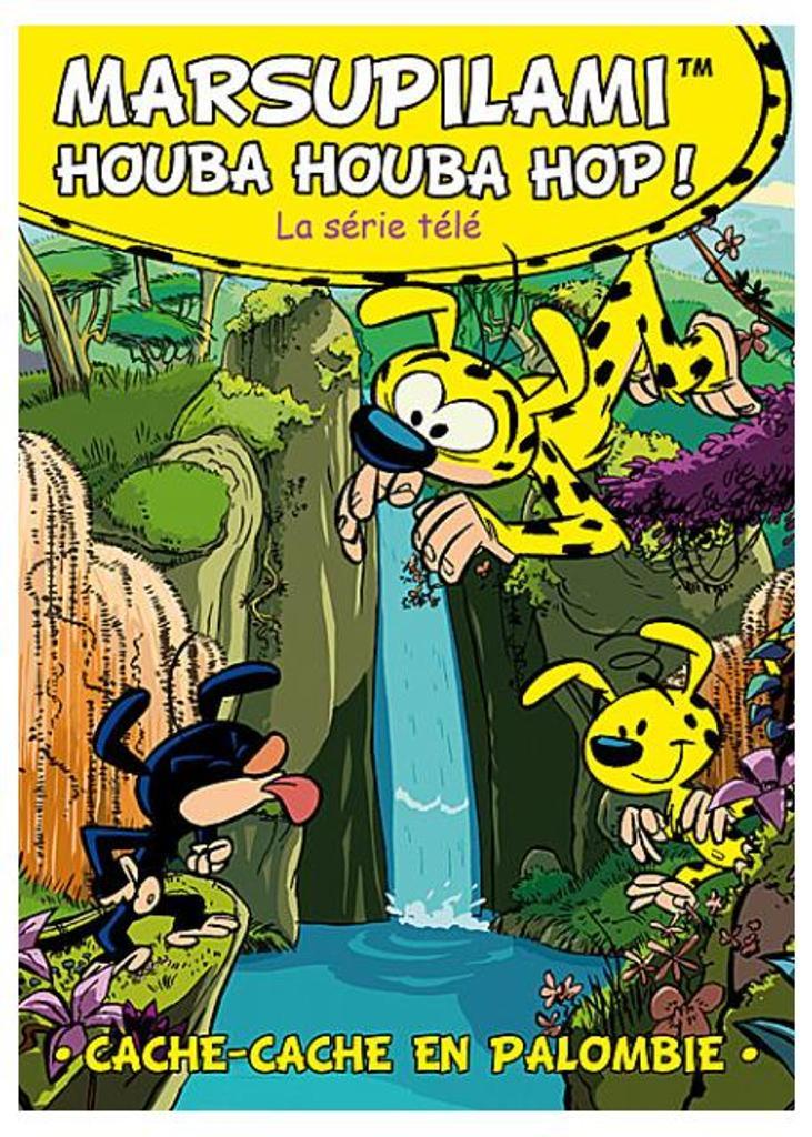 Marsupilami houba houba hop ! : Cache-cache en Palombie / Moran Caouissin, Claude Allix, réal.  