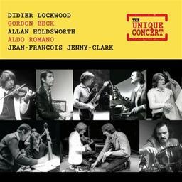 The unique concert / Didier Lockwood, violon | Lockwood, Didier. Violon