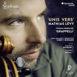Unis vers / Mathias Lévy, vl   Lévy, Mathias. Compositeur. Violon