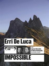 Impossible / Erri De Luca | De Luca, Erri