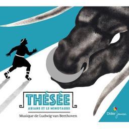 Thésée, Ariane et le minotaure / Ludwig van Beethoven, comp.   Beethoven, Ludwig van. Compositeur