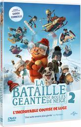 La bataille géante de boules de neige 2 : L'incroyable course de luge / Benoît Godbout, François Brisson, réal.   Godbout, Benoît. Metteur en scène ou réalisateur