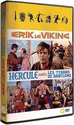 Erik le viking / Hercule contre les tyrans de Babylone / Mario Caiano, Domenico Paolella, réal.   Caiano, Mario . Metteur en scène ou réalisateur