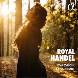 Royal Handel / George Frideric Handel, comp.   Zaïcik, Eva. Mezzo-soprano