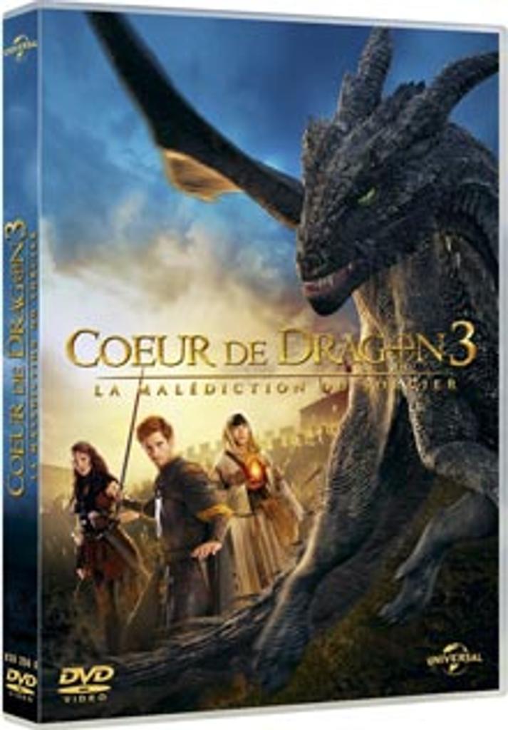 Coeur de dragon 3 : La malédiction du sorcier / Colin Teague, réal. |