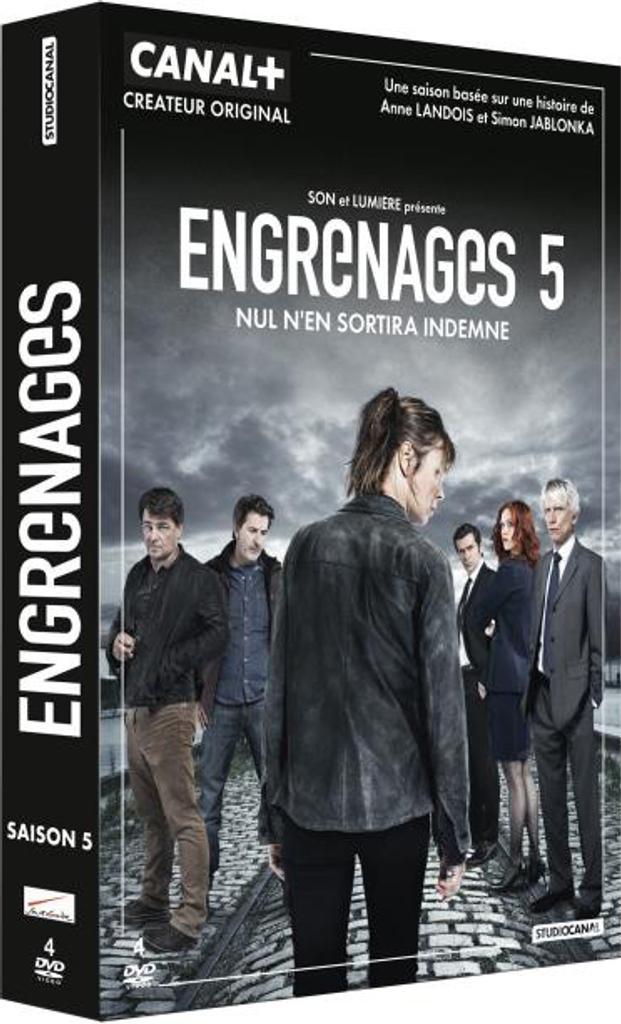 Engrenages saison 5 : Episodes 1 à 3 / Nicolas Guicheteau, Frédéric Jardin, Frédéric Balekdjian, réal. |