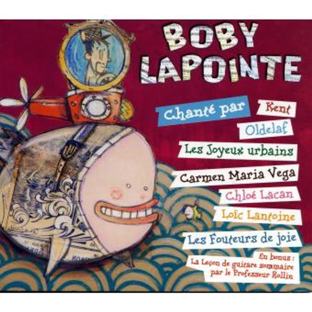 Boby Lapointe chanté par / Boby Lapointe, aut. adapté |